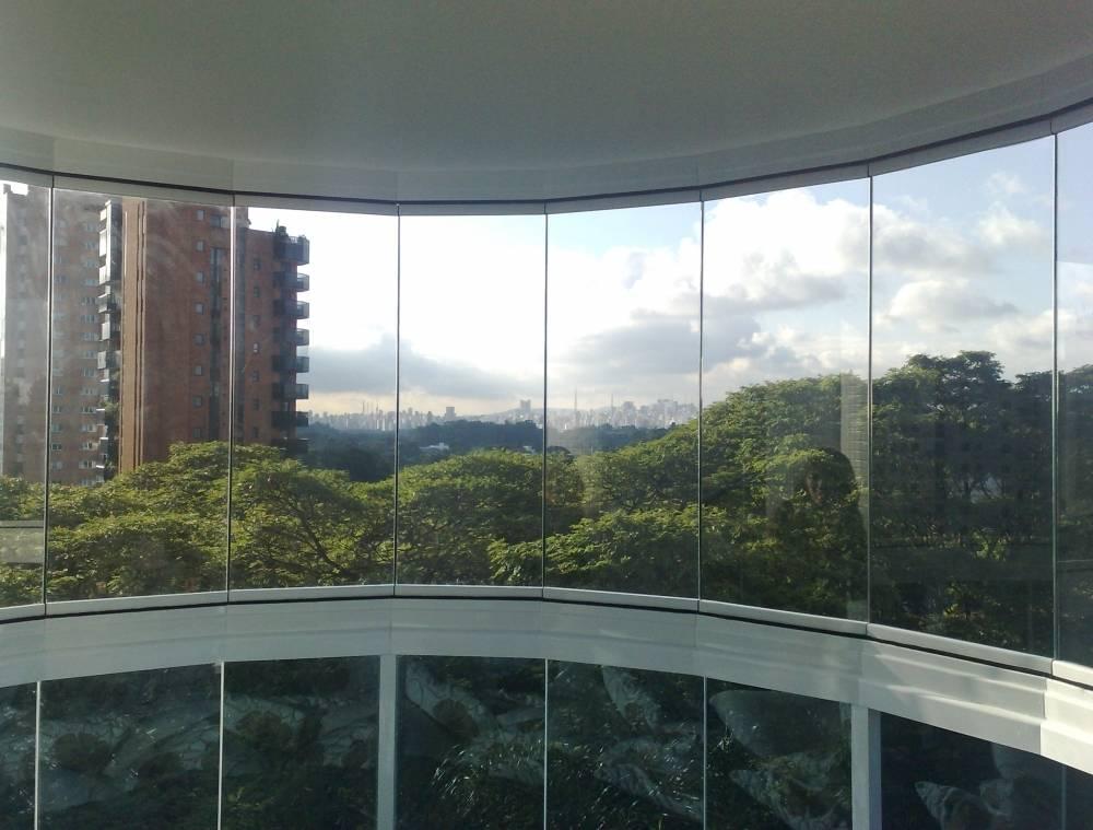 Envidraçamento de Sacada Preço em São Caetano do Sul - Envidraçamento de Sacada