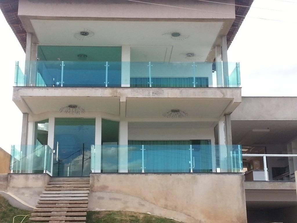 Guarda-corpo de Vidro Piscina na Vila Mariana - Guarda-corpo de Vidro Temperado