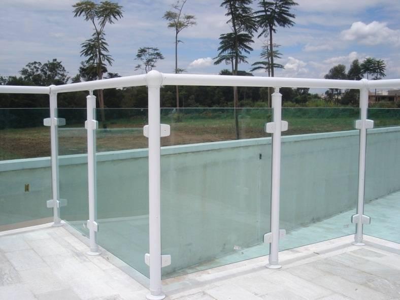 Loja de Guarda-corpo de Vidro Verde no Morumbi - Guarda-corpo de Vidro com Torre