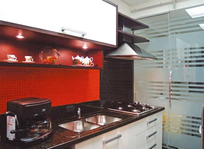 Loja de Porta de Vidro de Cozinha no Tatuapé - Porta de Vidro Espelhado
