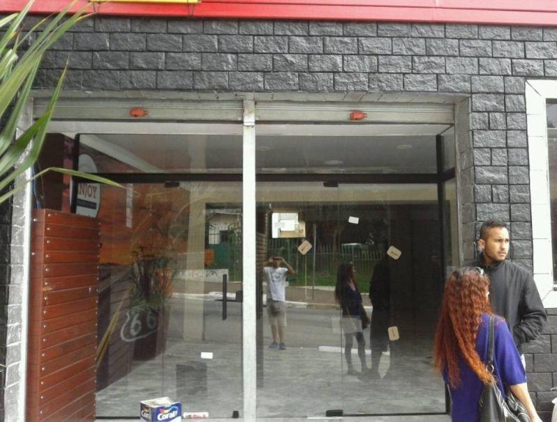 Loja de Porta de Vidro de Loja em Sapopemba - Porta de Vidro Espelhado