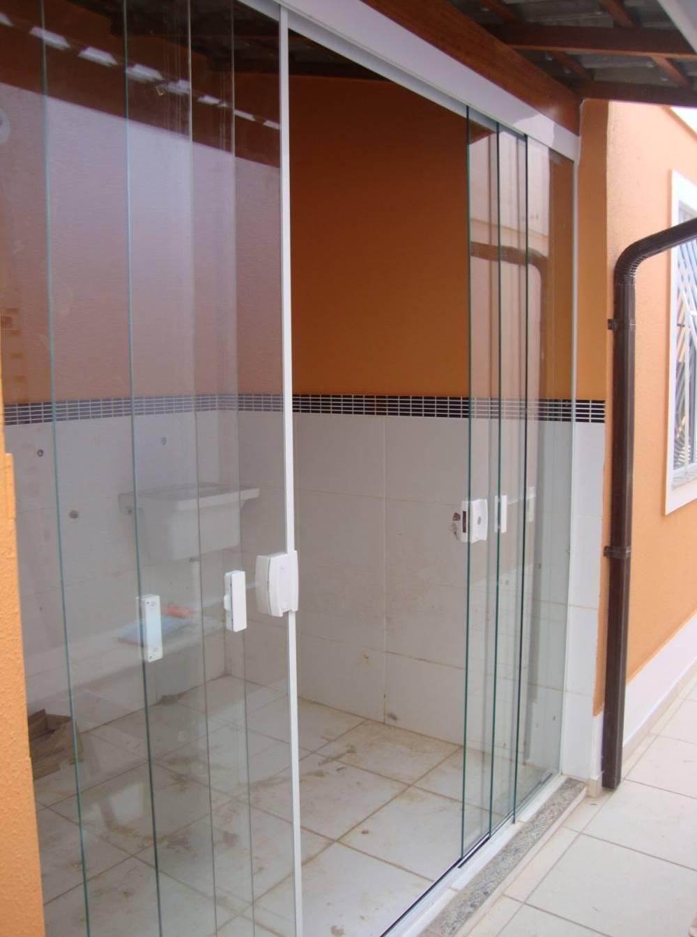 Porta de Vidro com Fechadura Preço na Vila Curuçá - Porta de Vidro Eletrônica