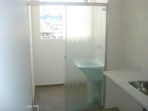 Porta de Vidro Lavanderia no Brooklin - Porta de Vidro Espelhado