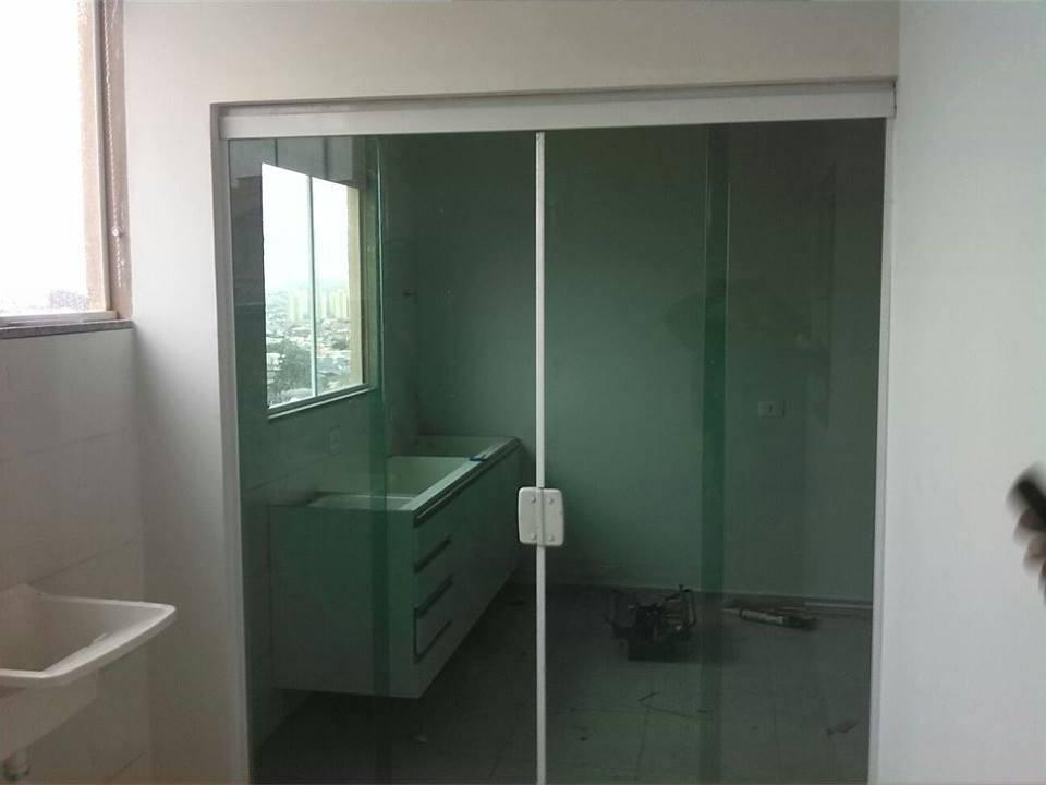 Porta de Vidro Sobreposta no Itaim Bibi - Porta de Vidro Espelhado