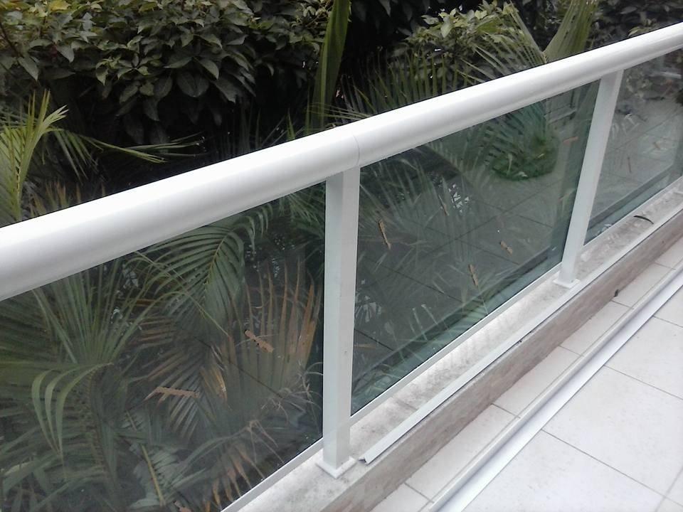 Projeto Guarda-corpo de Vidro no Socorro - Guarda-corpo de Vidro para Escada