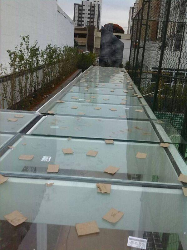 Quanto Fica uma Cobertura de Vidro no Jardim Iguatemi - Cobertura de Vidro em Sp