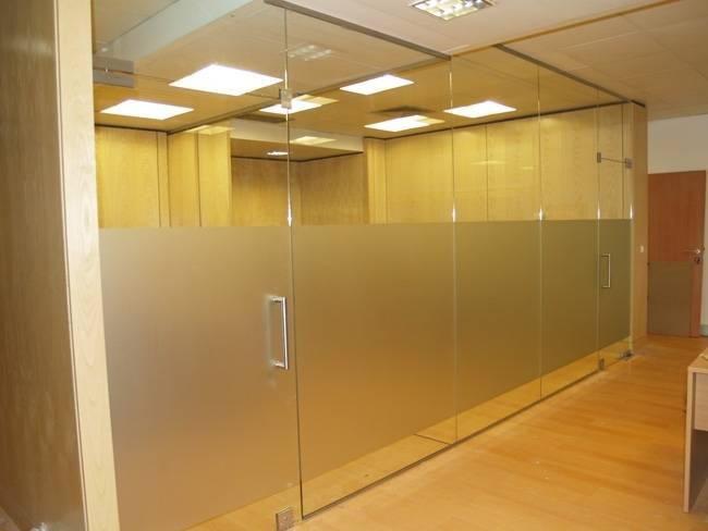 Sistema de Vidro Versatik no Ibirapuera - Vidro Jateado