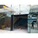 Cobertura de vidro para porta preço em Interlagos