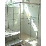 Comprar box de banheiro de vidro na Anália Franco