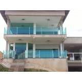 Guarda-corpo de vidro para varanda preço em Belém