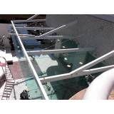 Loja de cobertura de vidro para quintal no Jockey Club