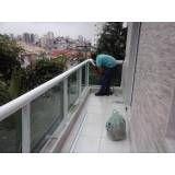 Loja de Guarda-corpo de vidro e alumínio em Interlagos