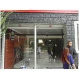 Loja de porta de vidro de loja em Sapopemba