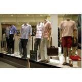 Loja de vitrine de vidro para loja de roupas na Vila Mariana