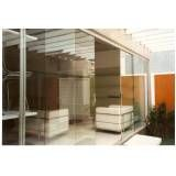 Porta de vidro orçamento na Vila Esperança