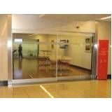 Porta de vidro para sala na Água Funda