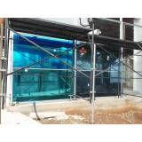 Porta de vidro sob medida no Jardim Iguatemi