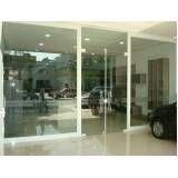 Vidro para vitrine de loja preço em José Bonifácio