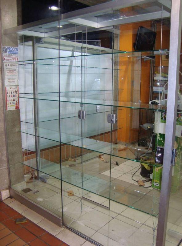 Vitrine de Vidro para Perfumês Preço na Cidade Jardim - Vitrine de Vidro para Parede